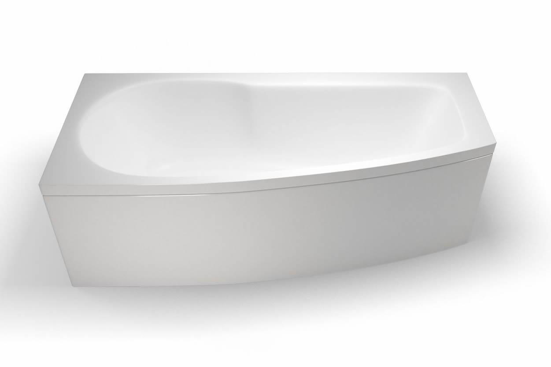 Britton Cleargreen Ecocurve Left Hand Shower Bath – Online 4 Bathrooms