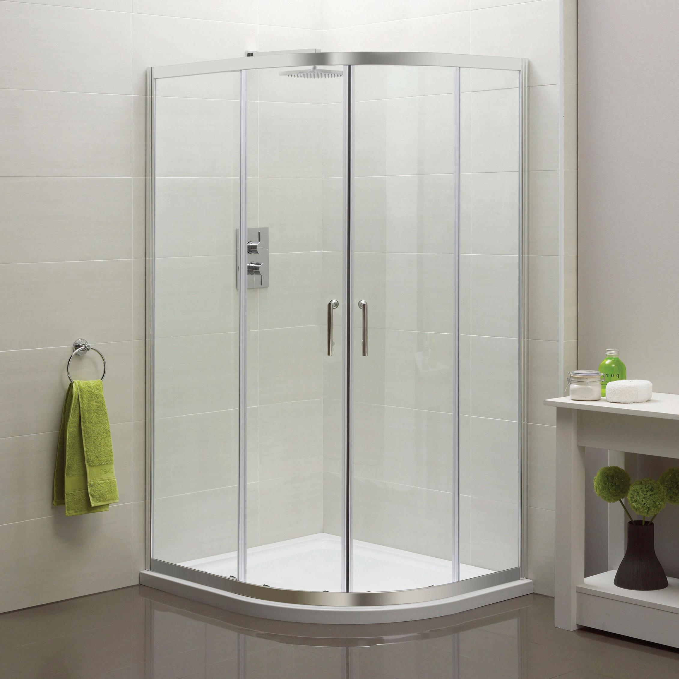 Offset Quadrant Double Door Sommer 6 Online 4 Bathrooms