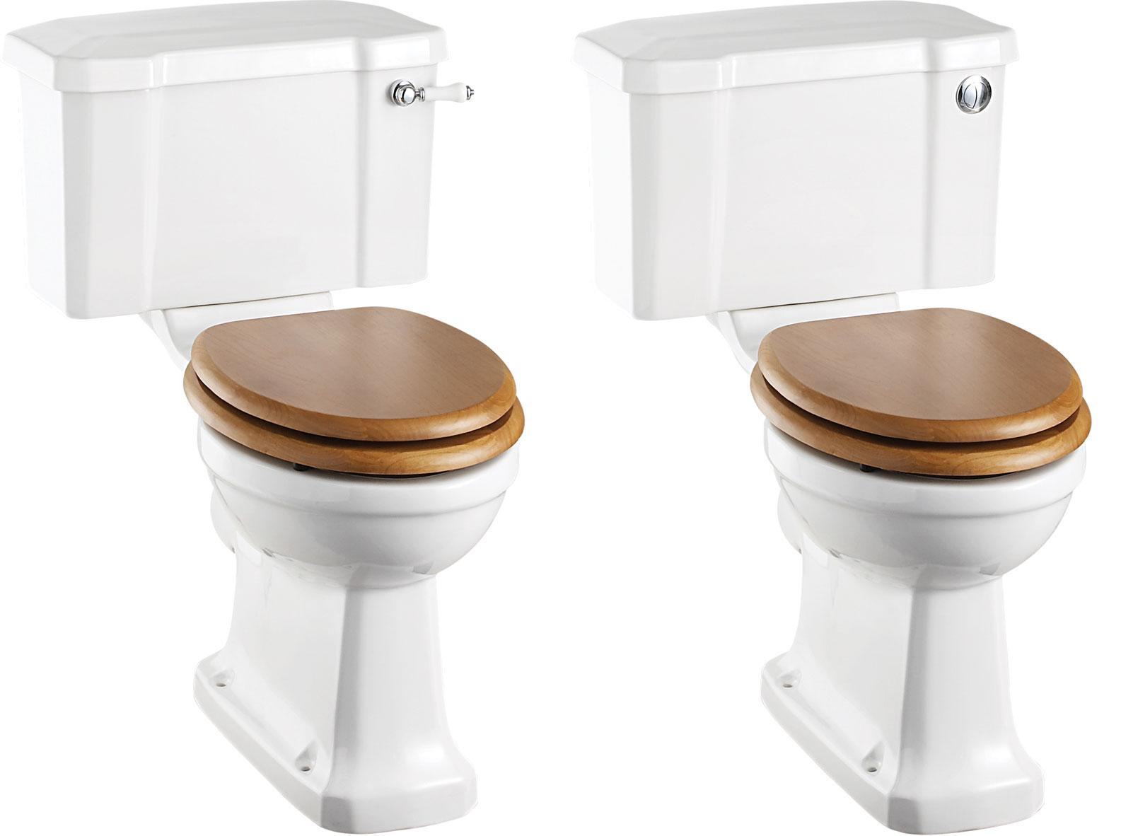 Burlington Traditional Close Coupled WC Online 4 Bathrooms